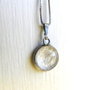 Bubble Breast Milk Necklace Pendant Hypoallergenic Nickel Free