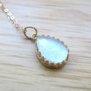 Gold Breast Milk Jewelry & DNA Keepsakes