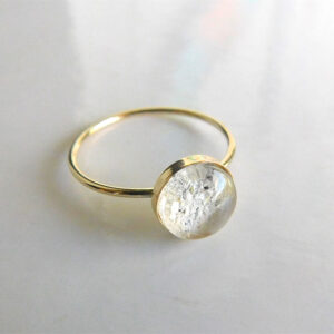 14k gold filled ash urn ring