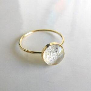 14k gold filled ash urn ring