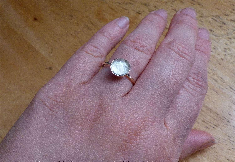 Simply 14k Gold Filled Ring Breast Milk Jewelry Precious Mammaries