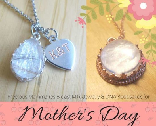 Mothers Day sale for breastmilk jewelry dna keepsakes