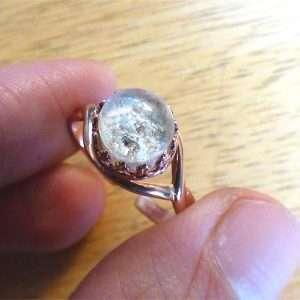 Cremation Ash Memorial Rings
