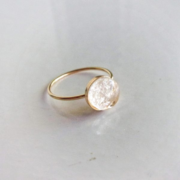 simply 14k gold filled ring