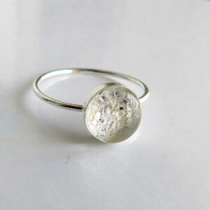 sterling silver ash urn ring