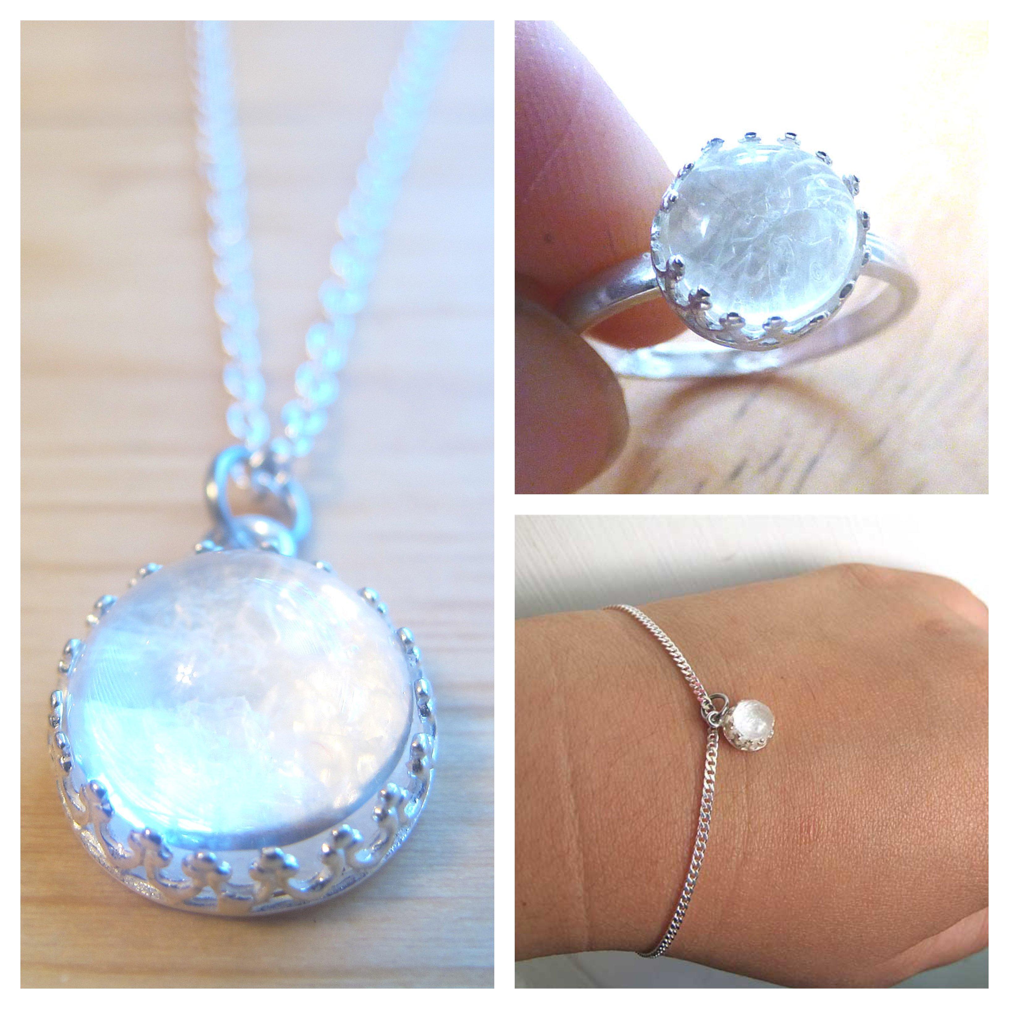 Ice Queen Crown Necklace Bracelet