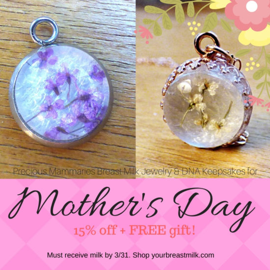 Mother's Day Sale Breast Milk Jewelry Gift for New Mom