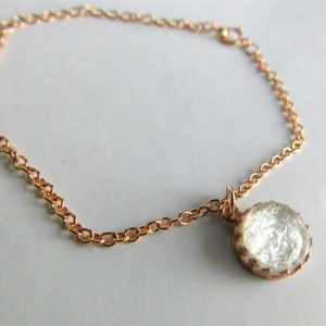 Gold Crown of the Queen Breast Milk Jewelry Bracelet
